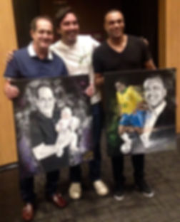 Pintando as celebridades / Pintando Felicidades
