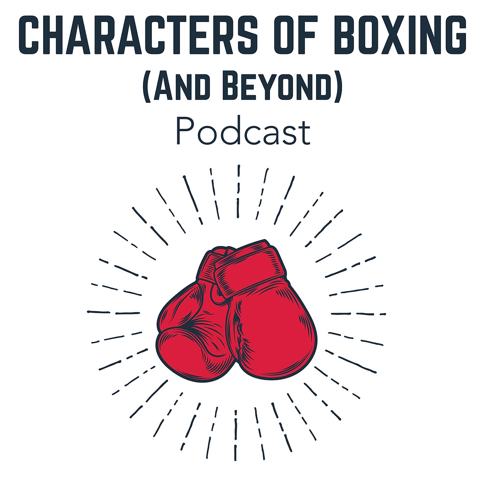 Characters of Boxing Podcast Logo