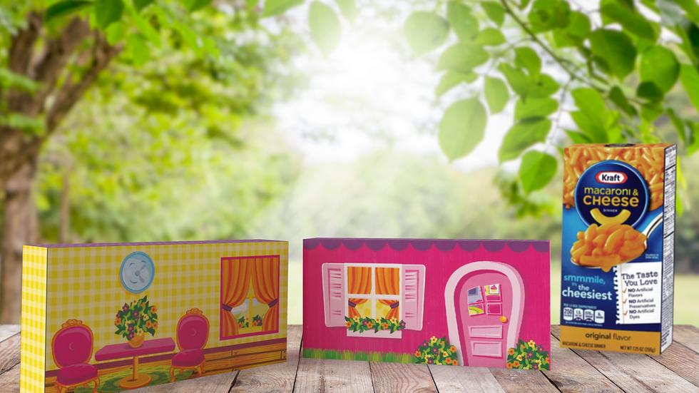 Mac N Cheese Mini Dollhouse Kit