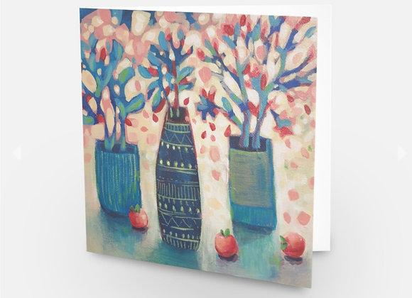 Cherry Apple Card
