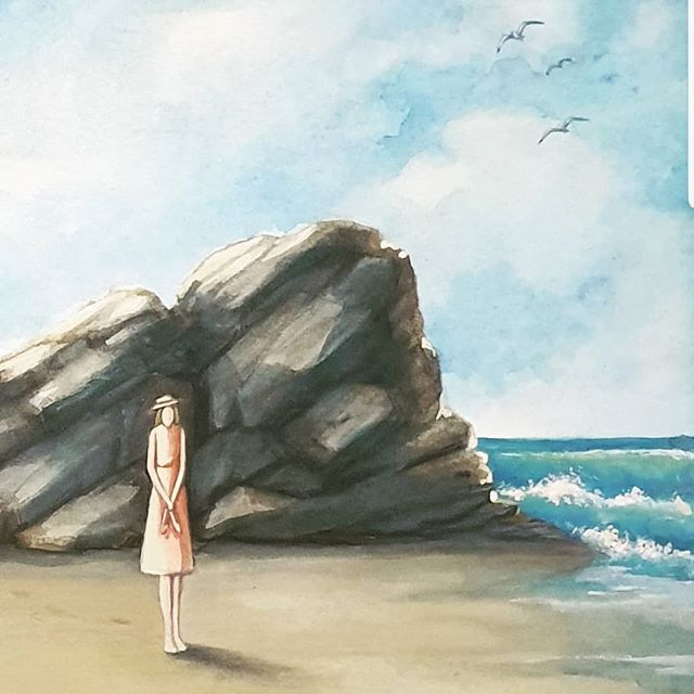 Watercolour Front cover