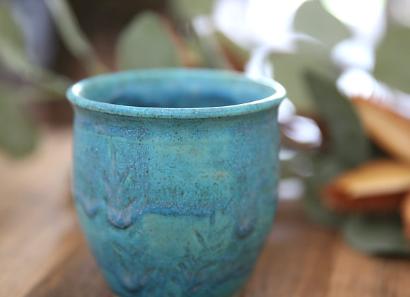 Blue-Green Tumbler