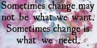 Do you need some change?