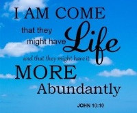 Life in All Its Fullness
