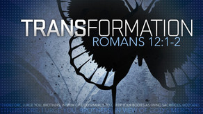 Are you being transformed?