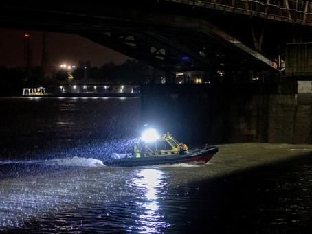 Már a hivatalos rendszerbe állítás előtt szükségessé vált a dunai sürgősségi mentőhajó bevetése