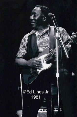 Muddy at ChicagoFest 1981
