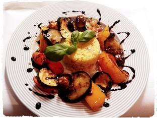 Grillgemüse Teller für Vegetarier