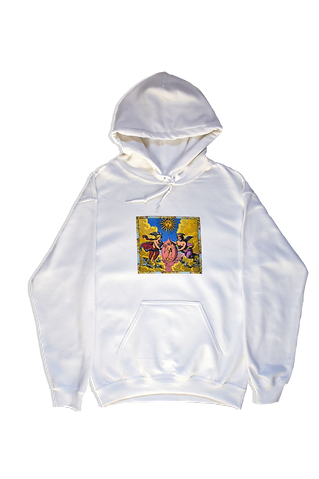 White Philosophers Angels Sweatshirt