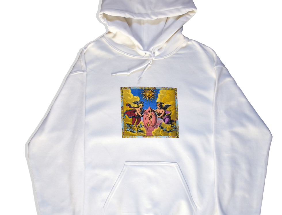 White Philosophers Angels Sweatshirt