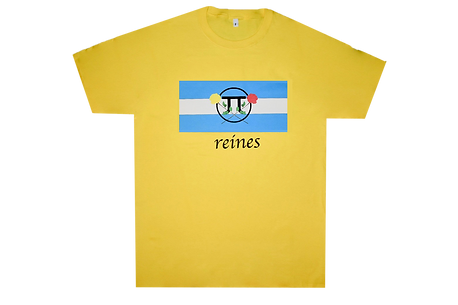 Yellow Queens Tee