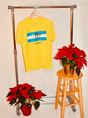 Yellow Queens T-Shirt
