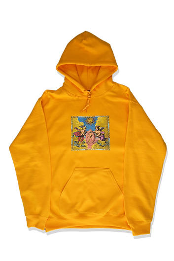 Gold Philosophers Angels Sweatshirt