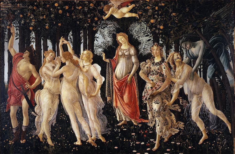 Botticelli; La Primavera
