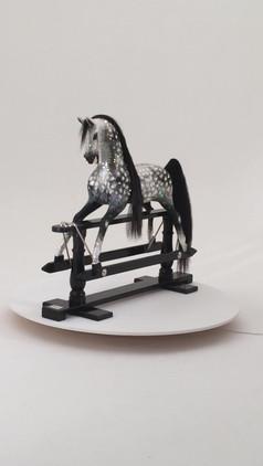 Crystal Swarovski Rocking Horse