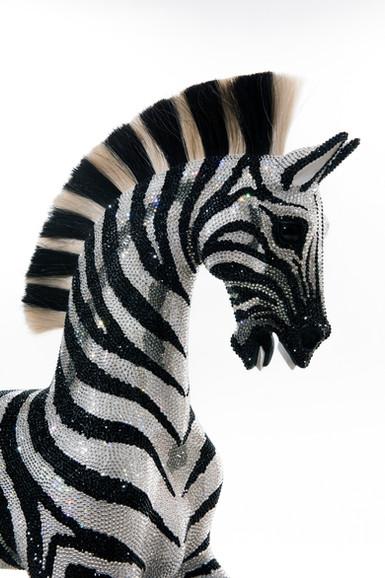 Swarovski Crystal Zebra