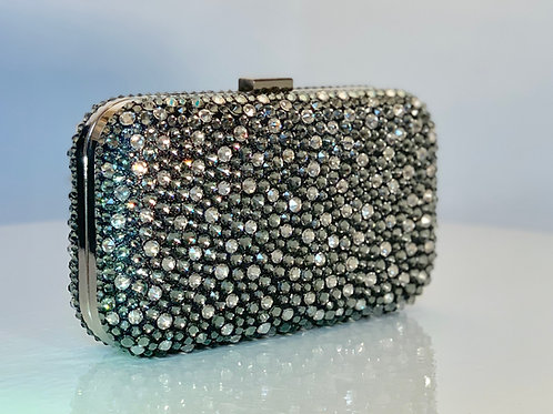 Swarovski Clutch - Black Diamond