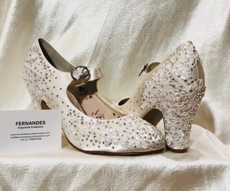 Swarovski wedding shoes