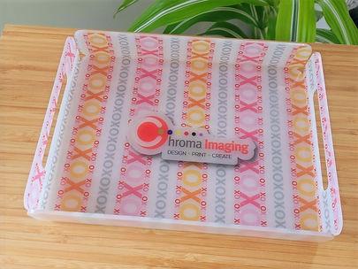 Printed Acrylic Tray