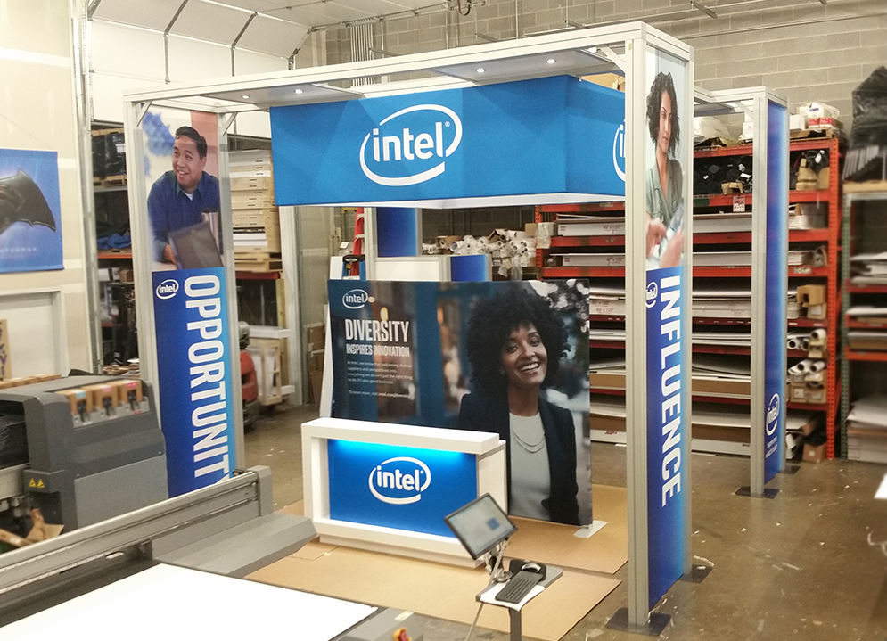 Intel's 20x20 booth preview