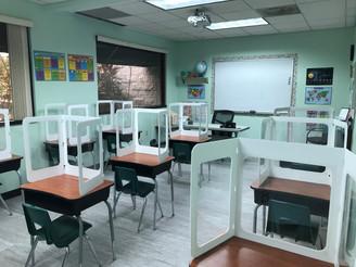Student Desk Shields