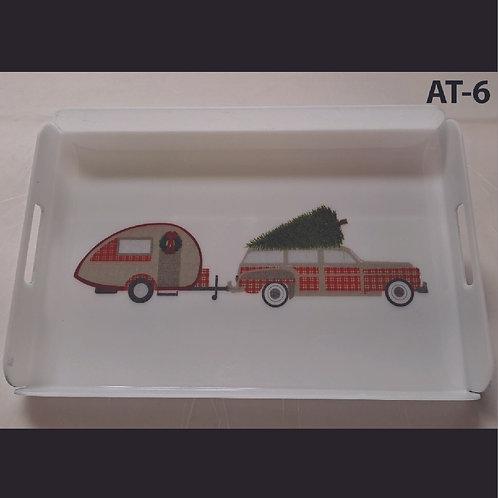 AT-6 Trailer Printed Acrylic Tray