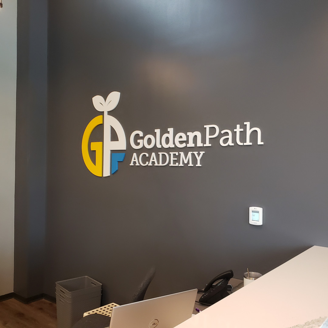 3D Logo fully installed