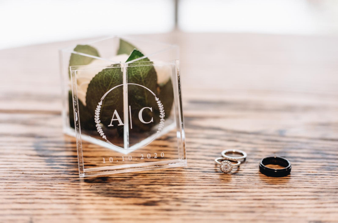 Custom Printed Acrylic Ring Box