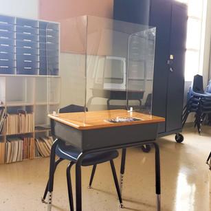 Acrylic Student Desk Shields