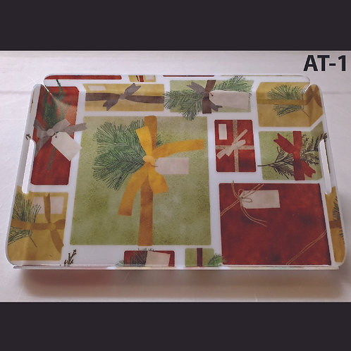 AT-1 Gift Tags Printed Acrylic Tray
