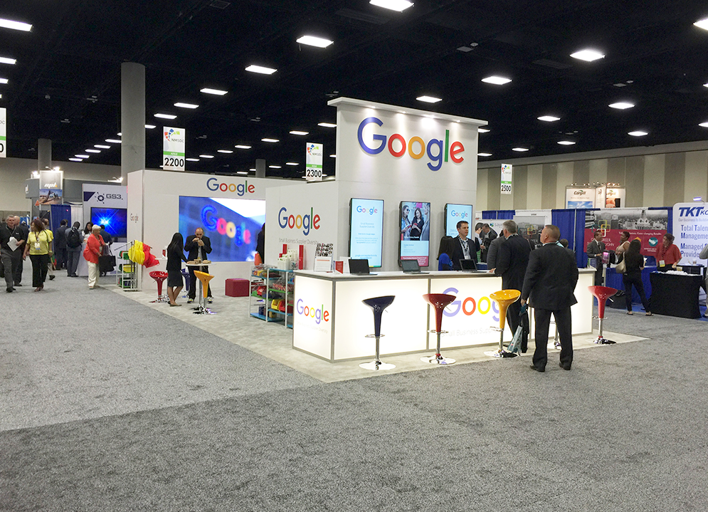 Google exhibit installed at NMSDC