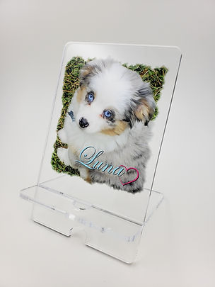 Personalized Acrylic Phone Stand