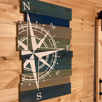 Wooden Printed Wall Art