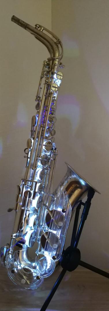 Saxophon-Lampe
