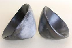 Saggar fired pinch pots
