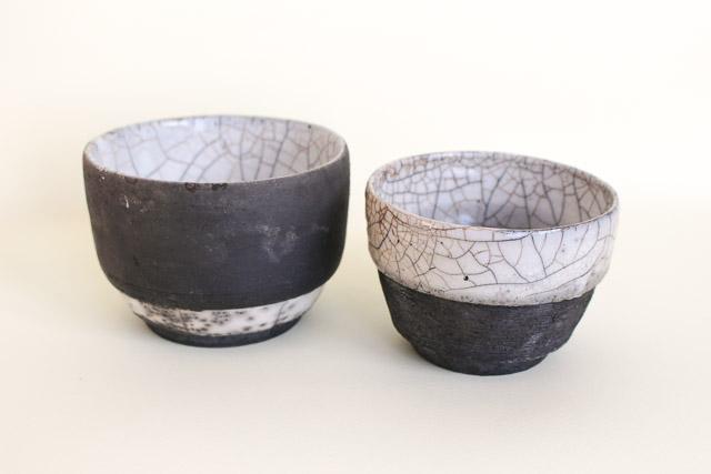 Raku Tea Bowls