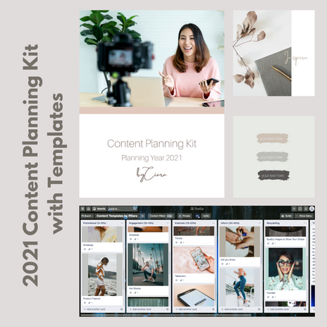 2021 Content Planning Kit with Templates