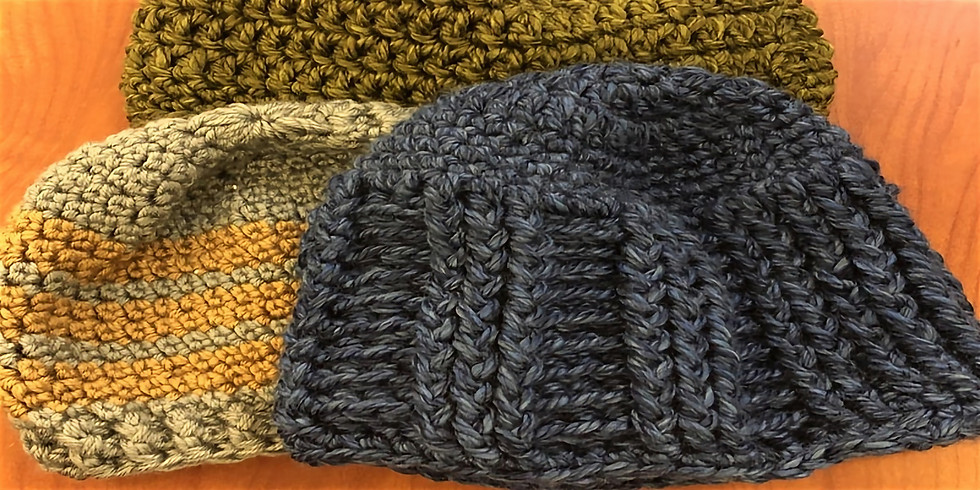 CANCELED: Join us as we make hats for the homeless. Hat for the Homeless