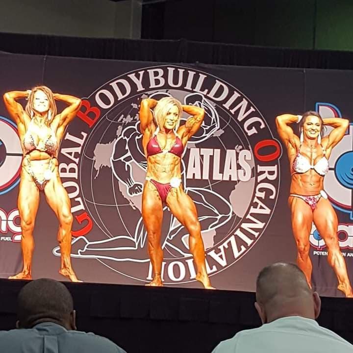 Women's standard bodybuilding