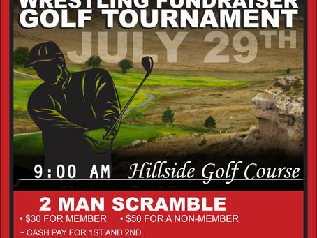 Sidney Red Raiders Wrestling Golf Tournament 6.29.17