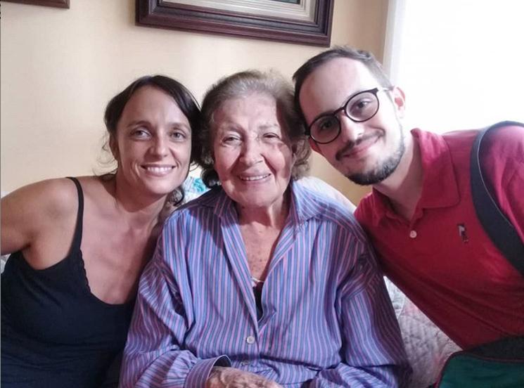 Tania, Helena de Lima e Marcelo
