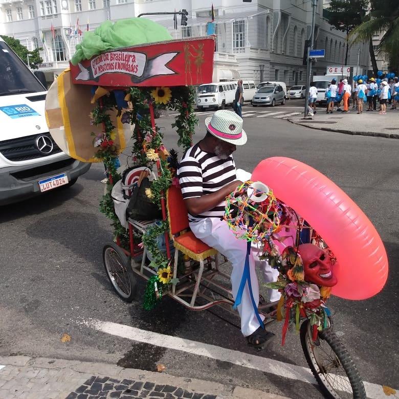 O malandro carioca no charme