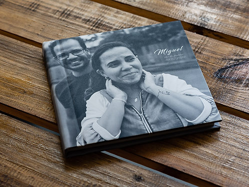 Álbum Encadernado 20 x 20 cm