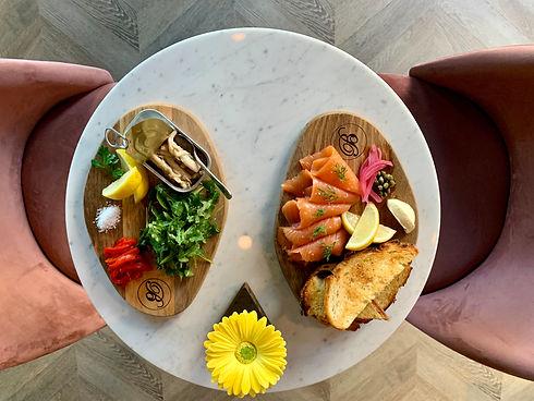 Razor clams and smoked salmon.jpg