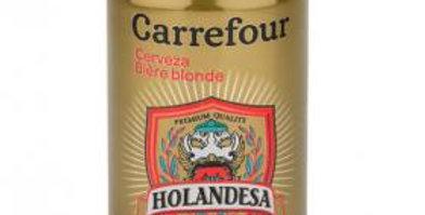 Cerveza Carrefour