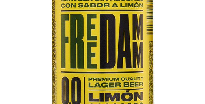 CERVEZA Free Damm Limón