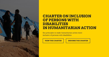 Charter on Inclusion of Persons with Disabilities