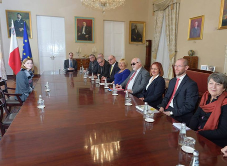 Courtesy Meeting with the Hon Prime Minister of Malta