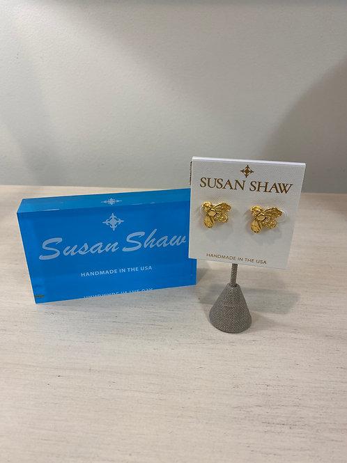 Susan Shaw Bee Earrings