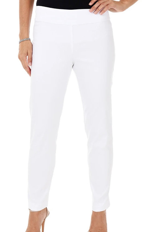 Krazy Larry Solid White Long Pants
